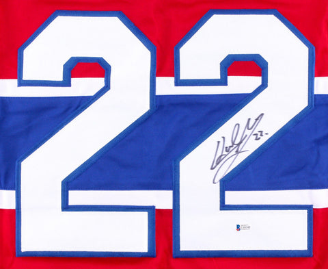 Karl Alzner Signed Montreal Canadiens Jersey (Beckett COA) 1st Round Pick 2007
