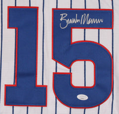 Brandon Morrow Signed Chicago Cubs Authentic Majestic MLB Jersey (JSA COA)