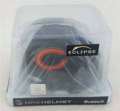 Charles Tillman Signed Chicago Bears Eclipse Alternate Mini Helmet (Beckett COA)