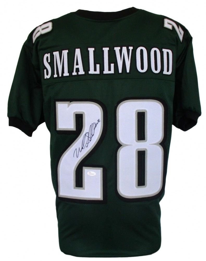 Wendell Smallwood Signed Eagles Pro-Style Jersey (JSA) 2016 5th Round Draft Pick