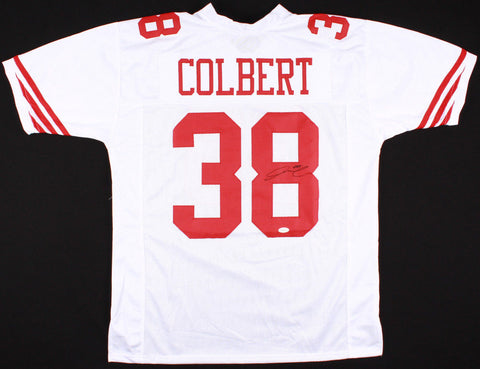 Adrian Colbert Signed 49ers Jersey (TSE COA) San Francisco Rookie Safety 2017