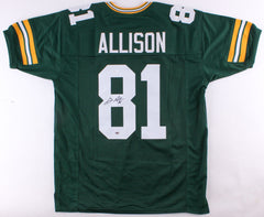 Geronimo Allison Signed Packers Jersey (JSA) / 2nd Yr Wide Receiver / U of Ill.