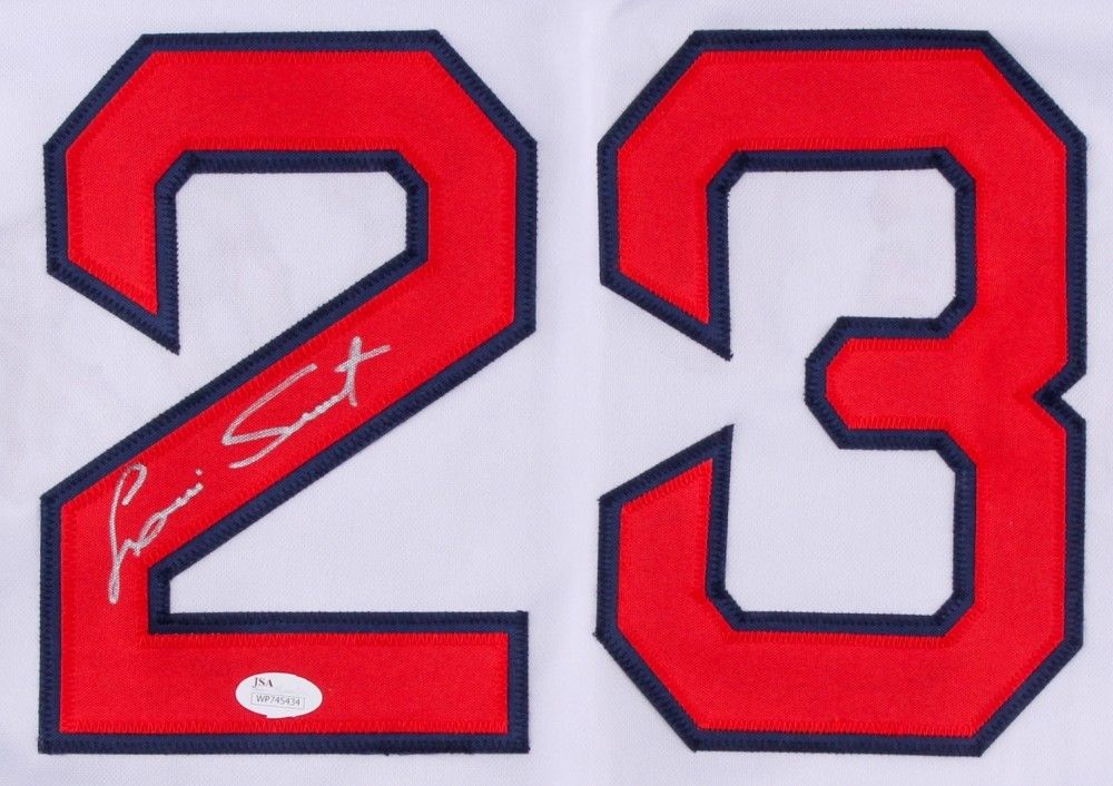 Luis Tiant Signed Red Sox Jersey (JSA COA) 3× All-Star (1968, 1974, 1976)