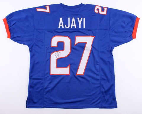 Jay Ajayi Signed Blue Boise State Jersey (JSA COA) Eagles Star Running Back