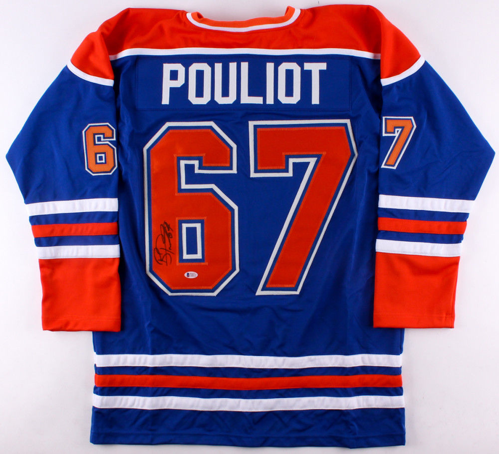 Benoit Pouliot Signed Oilers Home Jersey (Beckett) Playing career 2006–Now