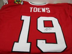 Jonathan Toews Signed Blackhawks Jersey / Center / Playing career  2007–present