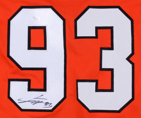 Jakub Voracek Signed Flyers Jersey  (JSA Holo) 7th Overall Pick 2007 NHL Draft