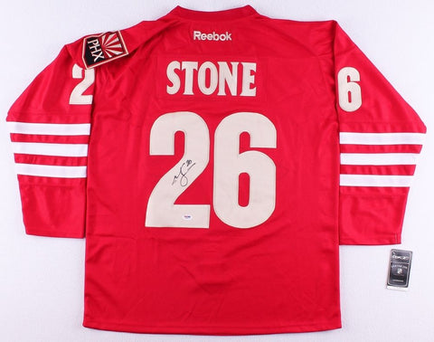 Michael Stone Signed Coyotes Jersey (PSA COA)