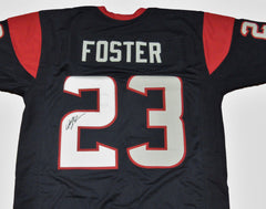 Arian Foster Signed Houston Texans Jersey (JSA) 4× Pro Bowl Running back