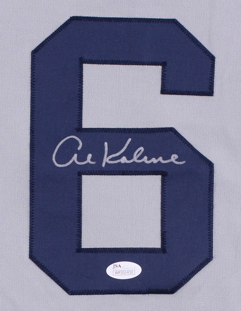 Al Kaline Signed Tigers Jersey JSA COA/ 18 All Star Games Hall of Famer Mr Tiger