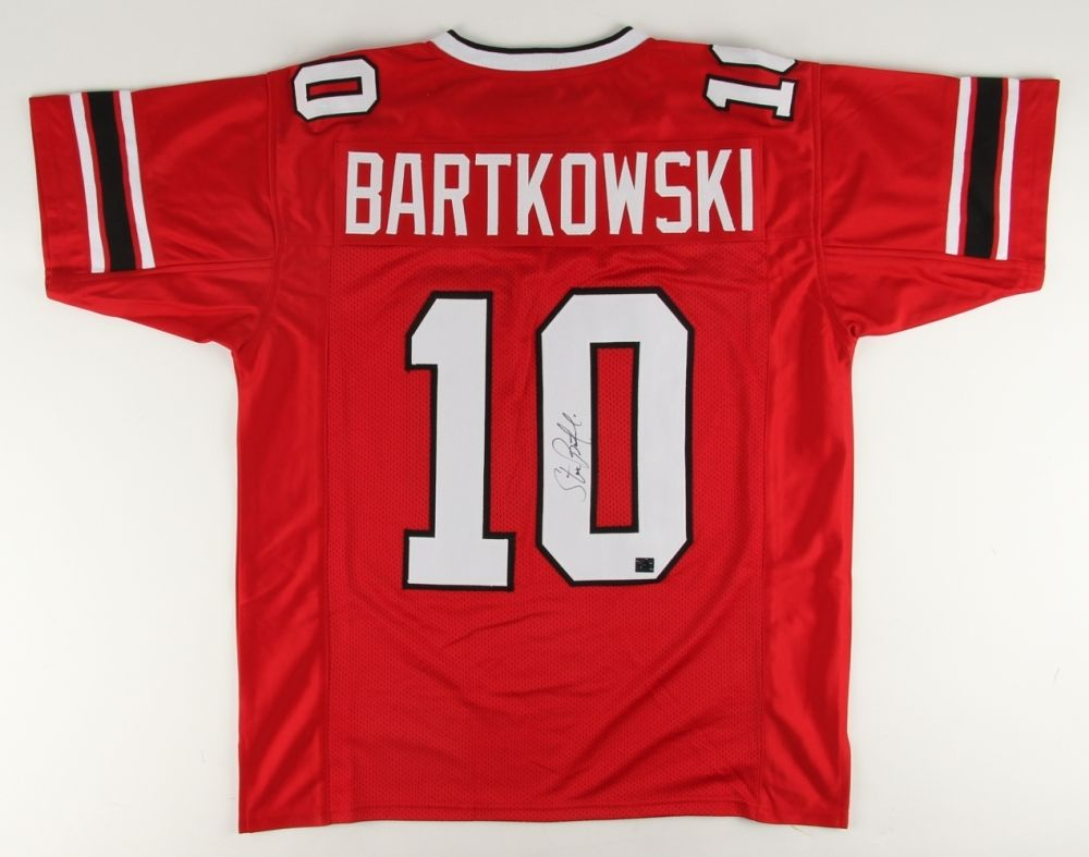 Steve Bartkowski Signed Falcons Jersey /TPL Hologram NFC Rookie of the Year 1975