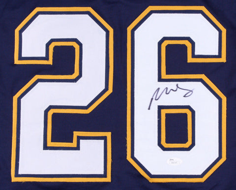 Paul Stastny Signed St. Louis Blues Jersey (JSA Hologram) Son of Peter Stastny