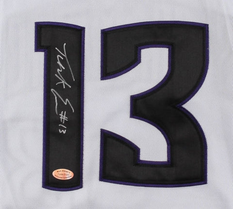Tyreke Evans Signed Kings Jersey (Hollywood Collectibles COA) NBA R.O.Y. 2010