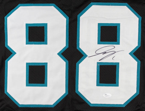 Greg Olsen Signed Carolina Panthers Jersey (JSA Hologram) 3x Pro Bowl Tight End