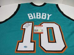 Mike Bibby Signed Vancouver Grizzlies Jersey / NBA All-Rookie First Team (1999)