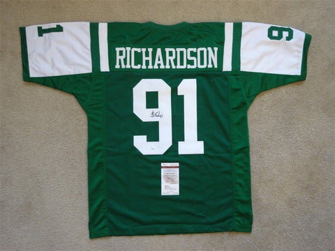 Sheldon Richardson Signed New York Jets Jersey (JSA)2014 Pro Bowl Defensive Back
