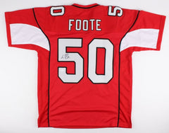 Larry Foote Signed Cardinals Jersey (JSA) Former Steeler / Current Arizona Coach