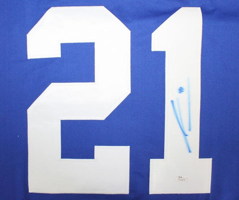 James van Riemsdyk Signed Maple Leafs Jersey (JSA) 2nd Overall Pick 2007 Draft