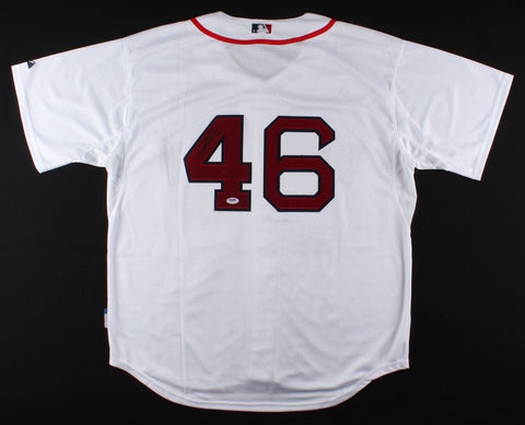 Craig Kimbrel Signed Red Sox Jersey (PSA) Boston's 5x All Star Closer