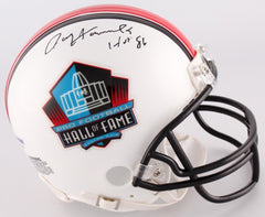 "Paul Hornung Signed Hall of Fame Mini-Helmet Inscribed ""HOF 86""(PSA COA) Packers"
