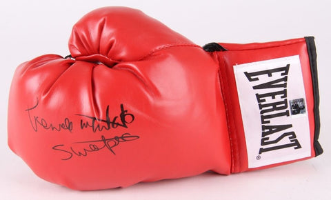 "Pernell Whitaker Signed Everlast Boxing Glove Inscribed ""Sweet Pea""Whitaker Holo"