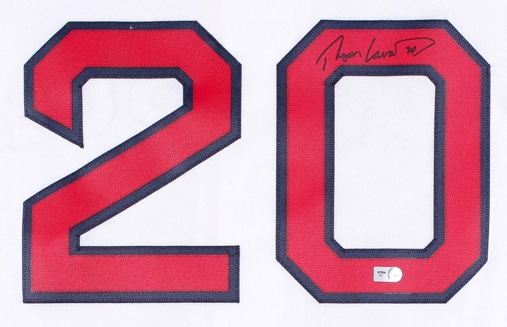 Ryan Lavarnway Signed Boston Red Sox Jersey (MLB Hologram)