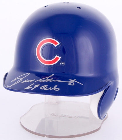 "Ron Santo Signed Cubs Mini Helmet Inscribed ""69 Cubs"" (PSA COA) 9x All Star"