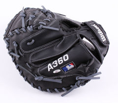 David Ross Signed Wilson Full-Size Pro Model Baseball Catchers Glove (Schwartz)