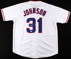 Davey Johnson Signed 1978 Chicago Cubs Jersey (JSA COA) 2nd Baseman