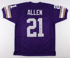 Terry Allen Signed Vikings Jersey (JSA) 8614 Career Rushing Yards +79 Touchdowns