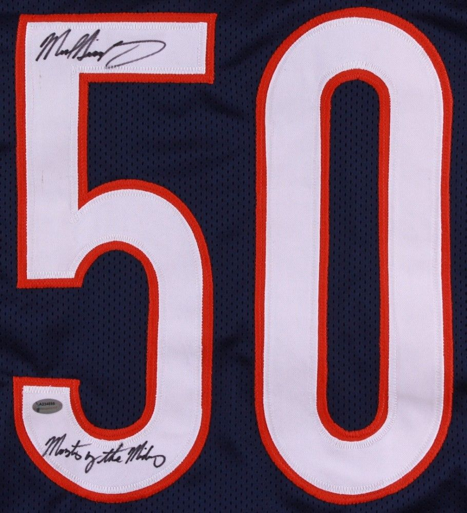 b5f8d04a6fd Mike Singletary Signed Bears Jersey Inscribed