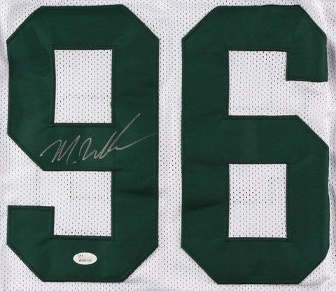 Muhammad Wilkerson Signed New York Jets Jersey (JSA)2015 Pro Bowl Defensive End