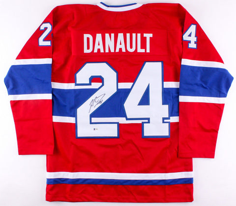 Phillip Danault Signed Montreal Canadiens Jersey (Beckett COA)