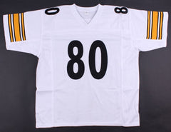 Plaxico Burress Signed Steelers Jersey (JSA Hologram) Super Bowl champion (XLII)