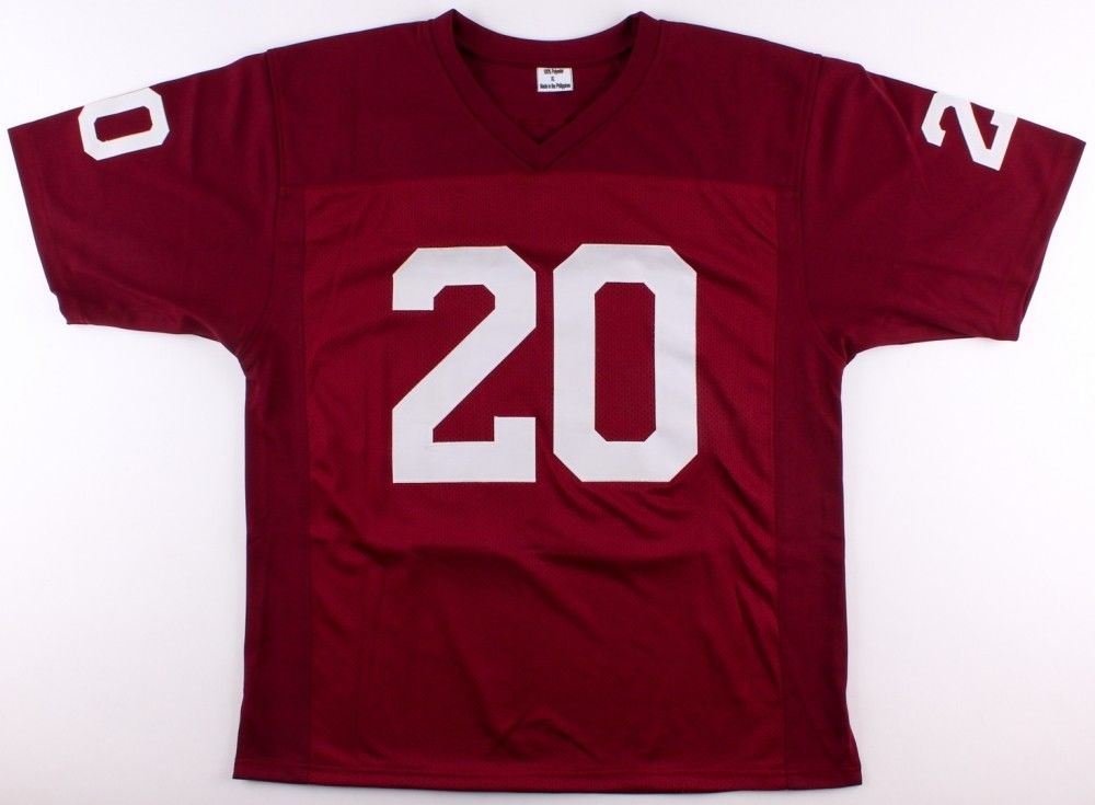 "Billy Sims Signed Oklahoma Sooners Jersey Inscribed ""78 Heisman"" (TriStar Holo)"