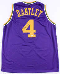 Adrian Dantley Signed Utah Jazz Jersey (JSA COA)