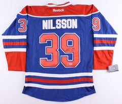 Anders Nilsson Signed Oilers Jersey (PSA COA)