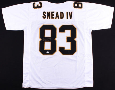 Willie Snead IV Signed Saints Jersey (JSA) New Orleans Wide Out /  2014 -Present