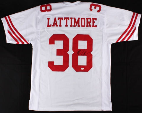 Marcus Lattimore Signed 49ers Jersey (JSA) San Francisco Running Back 2013-2014