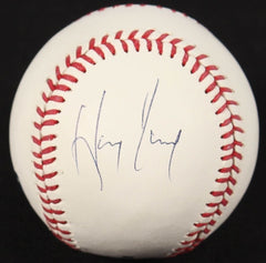 Hanley Ramirez Signed OML Baseball (JSA COA) Marlins, Dodgers, Red Sox
