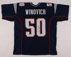 Chase Winovich Signed New England Patriots Jersey (JSA COA) 2019 3rd Round Pick