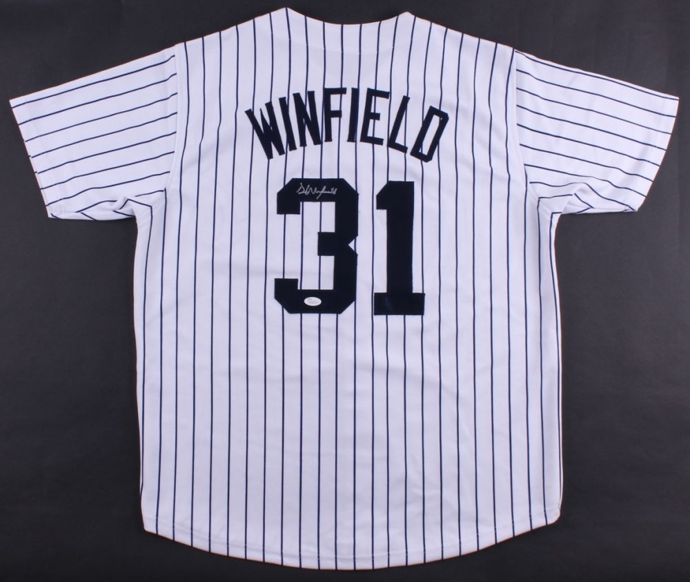 Dave Winfield Signed New York Yankees Jersey (JSA COA) 12× All-Star (1977–1988)