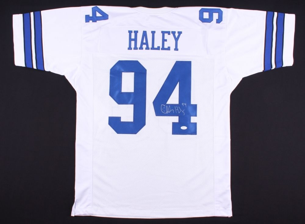 low priced 1201c 3fd90 Charles Haley Signed Cowboys Jersey (JSA COA)