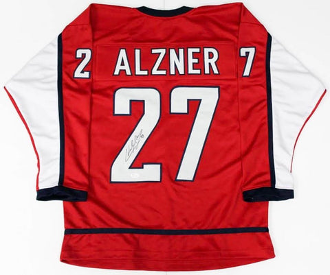 Karl Alzner Signed Washington Capitals Jersey (JSA COA) Defenseman