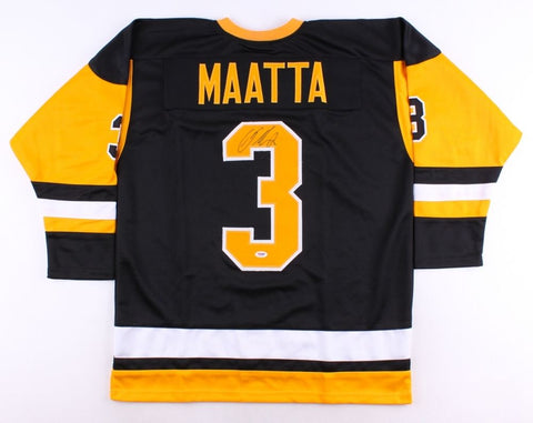 Olli Maatta Signed Penguins Jersey (PSA COA) 22nd Overall pick 2012 NHL Draft