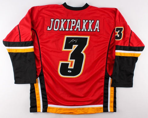 Jyrki Jokipakka Signed Flames Jersey (Beckett COA) Playing career 2010–present