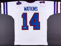 Sammy Watkins Signed  Buffalo Bills White Jersey (JSA COA)