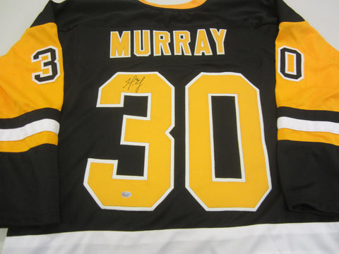 Matt Murray Signed Penguins Jersey / 2016 & 2017 Stanley Cup winning Goalie /COA