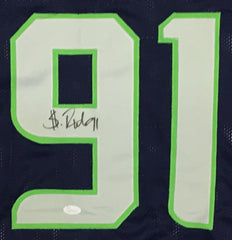 Sheldon Richardson Signed Seahawks Jersey (JSA COA) 2014 Pro Bowl Defensive End