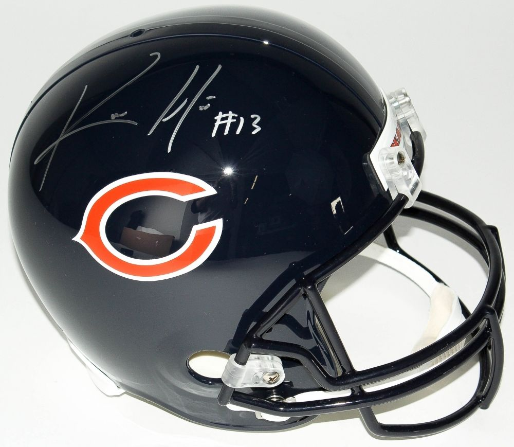 Kevin White Signed Bears Full-Size Helmet (JSA COA) Chicago's #1 Pick 2015